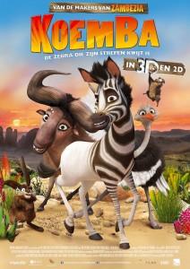Filmproject Koemba, de zebra die zijn strepen kwijt is